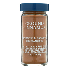 HGR0134627 - Morton and Bassett - Seasoning - Cinnamon - Ground - 2.7 oz.. - Case of 3