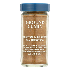 HGR0134684 - Morton and Bassett - Seasoning - Cumin - Ground - 2.3 oz.. - Case of 3