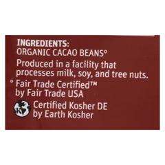 HGR01352251 - TCHO ChocolateOrganic Dark Chocolate Critters - Unsweetened - Case of 12 - 8 oz.