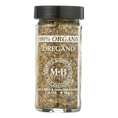 HGR0135525 - Morton and Bassett - 100% Organic Seasoning - Oregano - .7 oz.. - Case of 3