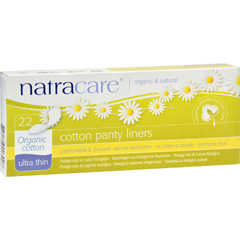 HGR0135798 - NatracareUltra Thin Organic Cotton Panty Liners - 22 Pack