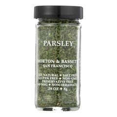 HGR0135822 - Morton and Bassett - Seasoning - Parsley - .28 oz.. - Case of 3