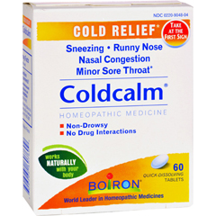 HGR0135921 - BoironColdcalm Cold - 60 Tablets