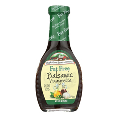 HGR0137059 - Maple Grove Farms - Fat Free Salad Dressing - Balsamic Vinaigrette - Case of 12 - 8 oz..