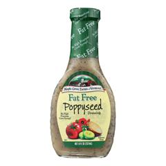 HGR0137307 - Maple Grove Farms - Fat Free Salad Dressing - Poppyseed - Case of 12 - 8 oz..
