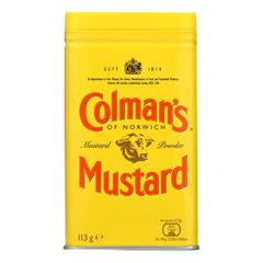 HGR0141291 - Colman - Dry Mustard Powder - 4 oz.. - case of 6