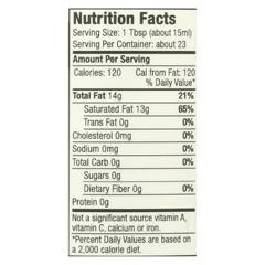 HGR01421395 - Aunt Patty'sOrganic Coconut Oil - Case of 6 - 12 fl oz.