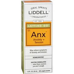 HGR0142539 - Liddell HomeopathicLetting Go Anxiety Spray - 1 fl oz
