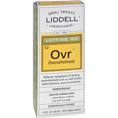 HGR0142620 - Liddell HomeopathicLetting Go Overwhelmed Spray - 1 fl oz