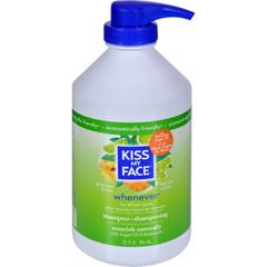 HGR0143396 - Kiss My FaceWhenever Shampoo Green Tea and Lime - 32 fl oz