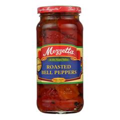 HGR0143495 - Mezzetta - Roasted Bell Peppers - Case of 6 - 16 oz..