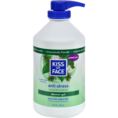 HGR0143537 - Kiss My FaceBath and Shower Gel Anti-stress Woodland Pine and Ginseng - 32 fl oz