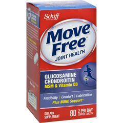 HGR0144816 - Schiff VitaminsSchiff Move Free Advanced Triple Strength Plus MSM and Vitamin D3 - 80 Coated Tablets