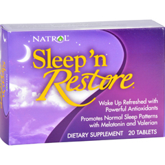 HGR0147090 - NatrolSleep n Restore - 20 Tablets