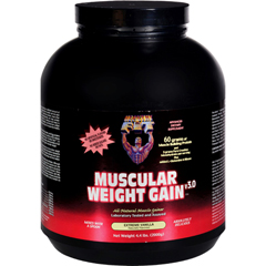 HGR0148445 - Healthy 'N FitMuscular Weight Gain 2 - Vanilla - 4.4 Lb.