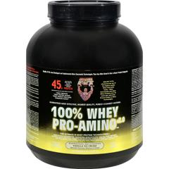 HGR0148478 - Healthy 'N FitNutritionals Whey Pro-Amino Vanilla Ice Cream - 5 lbs