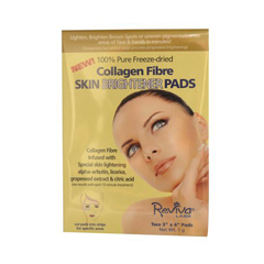 HGR0148759 - Reviva LabsCollagen Fiber Skin Brightener Pads 3 inches x 4 inches - Case of 6 - 2 Packs