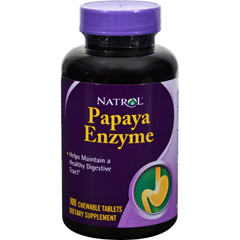 HGR0150201 - NatrolPapaya Enzyme - 100 Chewable Tablets