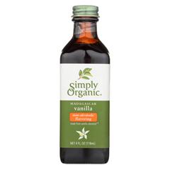 HGR01505528 - Simply OrganicVanilla Flavoring - Organic - 4 oz. - Case of 6
