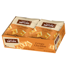 HGR01516756 - Back To NatureCrispy Cheddar Crackers - Case of 4 - 1 oz.