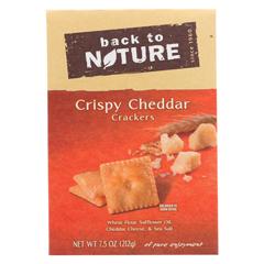 HGR01517093 - Back To NatureCrispy Cheddar - Case of 6 - 7.5 oz.