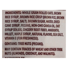 HGR01533116 - Back To NatureGranola Clusters - Maple Pecan - Case of 6 - 11 oz.