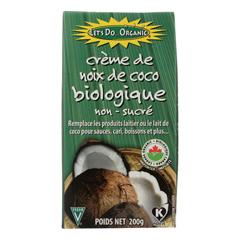 HGR0155002 - Let's Do - Organics Organic Creamed - Coconut - Case of 6 - 7 oz..