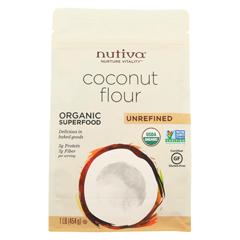 HGR01558790 - NutivaOrganic Virgin Oil - Coconut - Case of 6 - 1 lb.