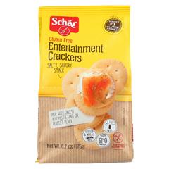 HGR01564533 - Schar - Entertainment Crackers Gluten Free - Case of 6 - 6.2 oz.