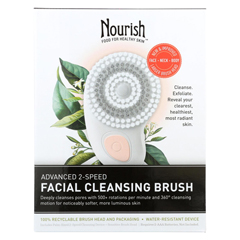 HGR01582329 - NourishFacial Cleansing Brush - Advanced 2 Speed - 1 count
