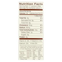 HGR01591163 - Blue DiamondWheat & Gluten Free Honey Mustard Nut-Thins - Case of 12 - 4.25 oz.