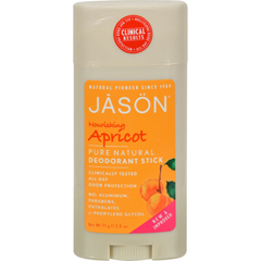 HGR0159681 - Jason Natural ProductsDeodorant Stick Nourishing Apricot - 2.5 oz