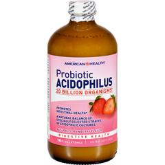HGR0160481 - American HealthAcidophilus Natural Strawberry - 16 fl oz