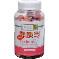 HGR0162784 - Natural DynamixCalcium DX for Adults - 60 Gummies
