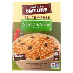HGR01629021 - Back To NatureCereal - Sprout and Shine - Case of 6 - 10 oz.