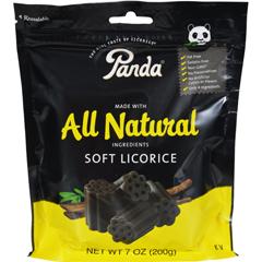 HGR0163006 - Panda LicoriceSoft Licorice - 7 oz - Case of 12