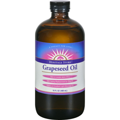 HGR0163089 - Heritage Products - Grapeseed Oil - 16 fl oz