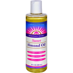 HGR0163097 - Heritage Products - Sweet Almond Oil - 8 fl oz