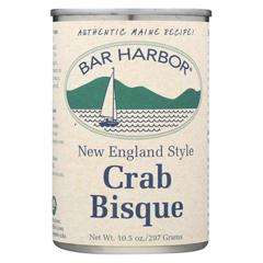 HGR0165498 - Bar Harbor - Soup Bisque Crab - Case of 6 - 10.5 oz..