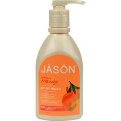 HGR0166413 - Jason Natural ProductsSatin Shower Body Wash Mango - 30 fl oz