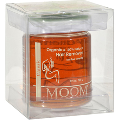 HGR0166892 - MoomOrganic Hair Removal With Tea Tree Refill Jar - 12 oz