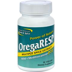 HGR0167841 - North American Herb and SpiceOregaRESP - 30 Vegetarian Capsules
