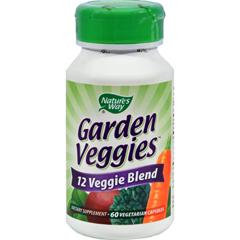 HGR0168435 - Nature's WayGarden Veggies - 60 Vegetarian Capsules