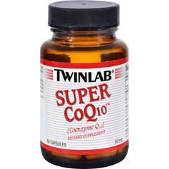 HGR0169789 - TwinlabSuper CoQ10 - 50 mg - 60 Capsules