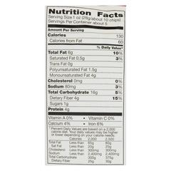 HGR01702430 - Food Should Taste GoodMultigrain Bean Chips -Black Bean - Case of 12 - 5.5 oz.