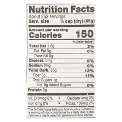 HGR0170985 - Lundberg Family Farms - Short Grain Brown Rice - Case of 25 lbs
