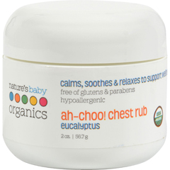HGR0172890 - Nature's Baby OrganicsAh-Choo Chest Rub Eucalyptus - 2 oz