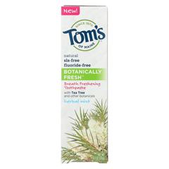 HGR01733930 - Tom's Of MaineToothpaste - Botanically Fresh - Case of 6 - 4.7 oz.