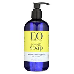 HGR0173450 - EO ProductsLiquid Hand Soap Lemon and Eucalyptus - 12 fl oz