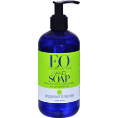 HGR0173476 - EO ProductsLiquid Hand Soap Peppermint and Tea Tree - 12 fl oz